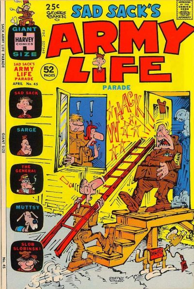 Cover for Sad Sack's Army Life Parade (Harvey, 1963 series) #45