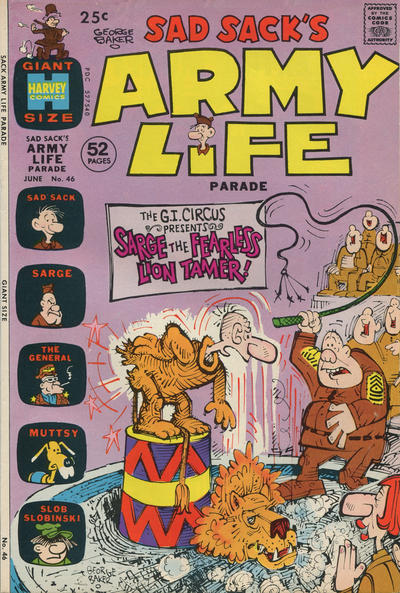 Cover for Sad Sack's Army Life Parade (Harvey, 1963 series) #46