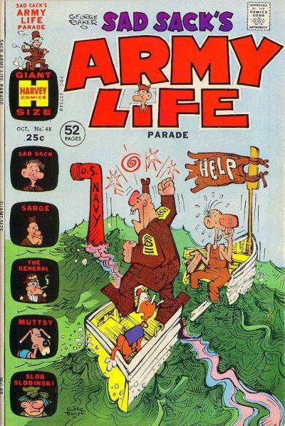 Cover for Sad Sack's Army Life Parade (Harvey, 1963 series) #48
