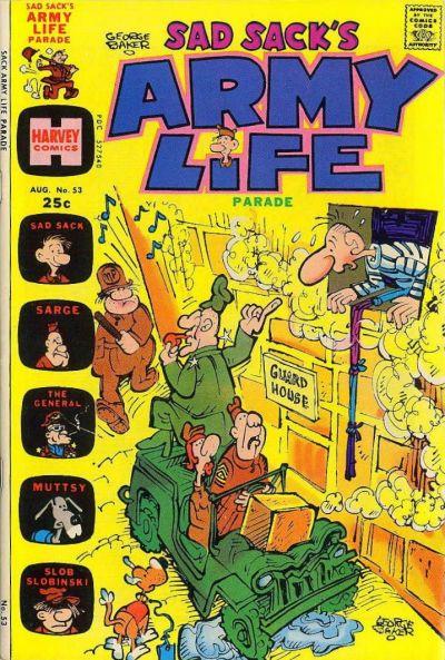 Cover for Sad Sack's Army Life Parade (Harvey, 1963 series) #53
