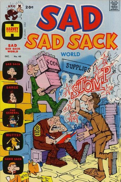 Cover for Sad Sad Sack World (Harvey, 1964 series) #40