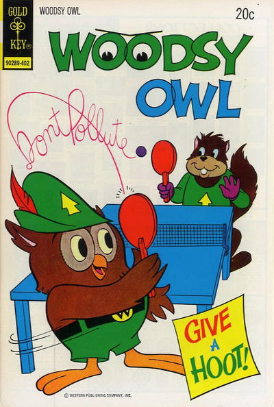 Cover for Woodsy Owl (Western, 1973 series) #2