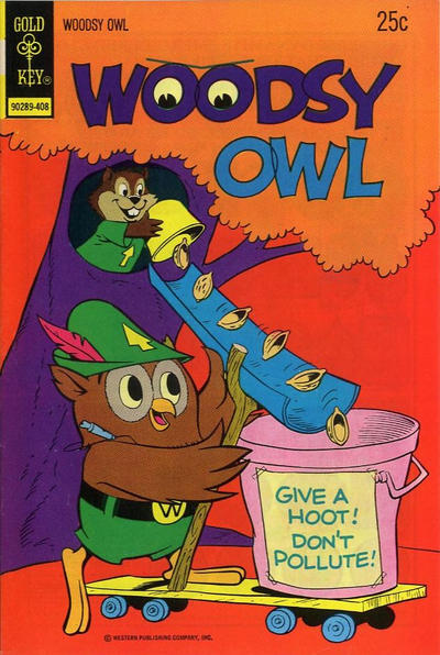 Cover for Woodsy Owl (Western, 1973 series) #4 [Gold Key Variant]