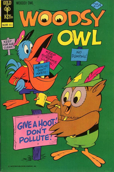 Cover for Woodsy Owl (Western, 1973 series) #5 [Gold Key Variant]