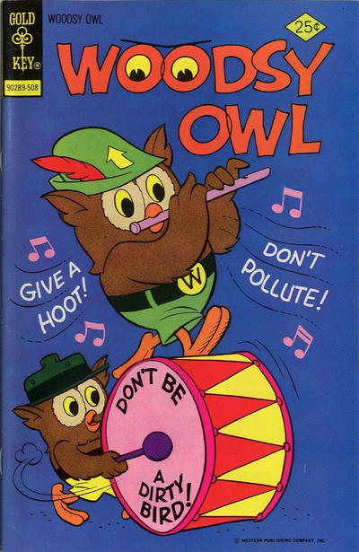 Cover for Woodsy Owl (Western, 1973 series) #8