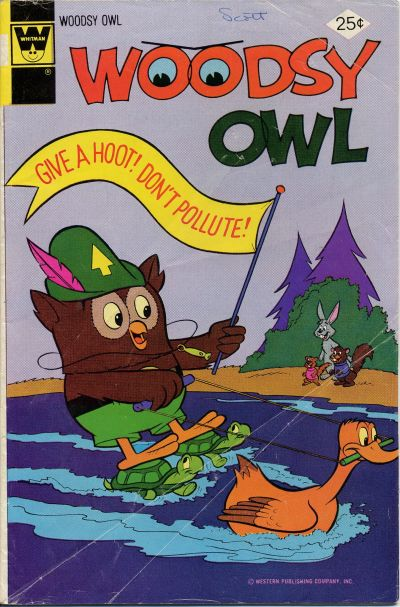 Cover for Woodsy Owl (Western, 1973 series) #10 [Whitman]