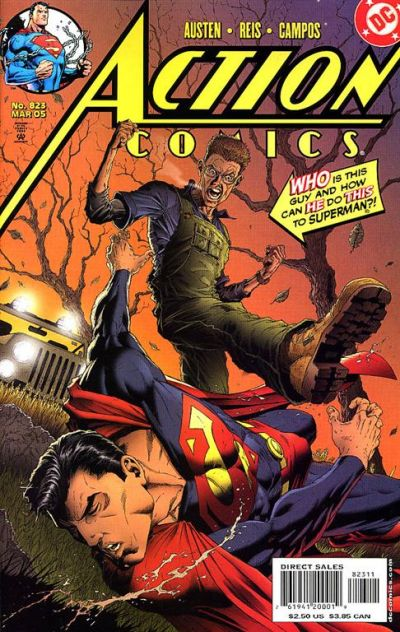 Cover for Action Comics (DC, 1938 series) #823