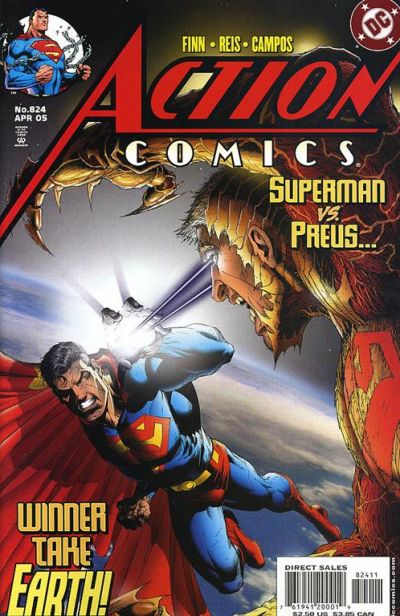 Cover for Action Comics (DC, 1938 series) #824
