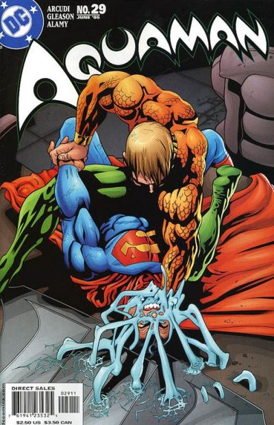 Cover for Aquaman (DC, 2003 series) #29
