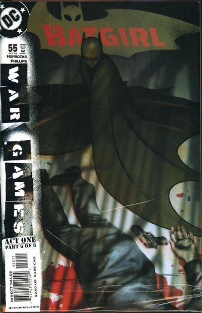 Cover for Batgirl (DC, 2000 series) #55