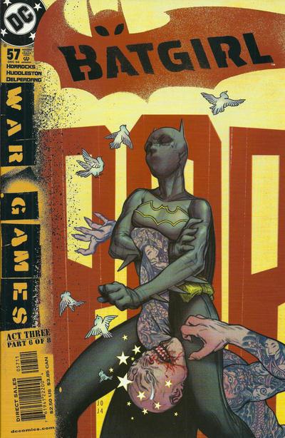Cover for Batgirl (DC, 2000 series) #57