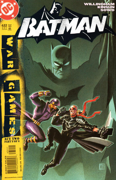 Cover for Batman (DC, 1940 series) #632