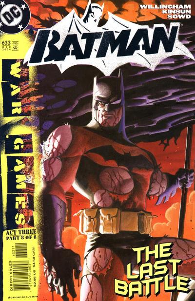Cover for Batman (DC, 1940 series) #633 [Direct Edition]
