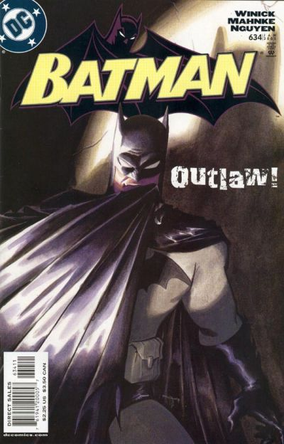 Cover for Batman (DC, 1940 series) #634