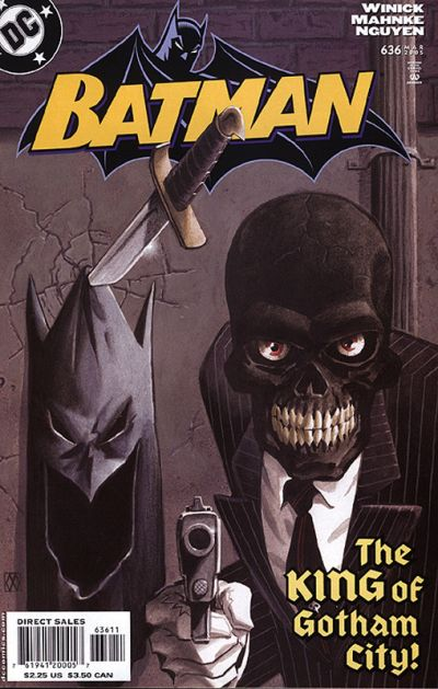 Cover for Batman (DC, 1940 series) #636