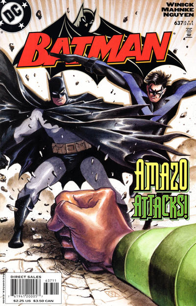 Cover for Batman (DC, 1940 series) #637
