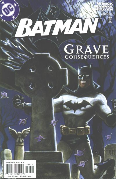 Cover for Batman (DC, 1940 series) #639 [Direct]