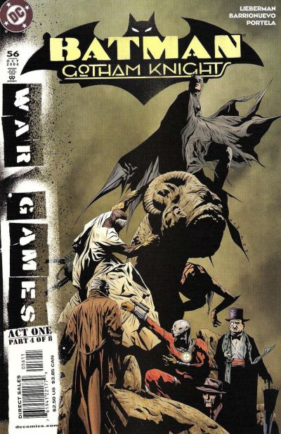 Cover for Batman: Gotham Knights (DC, 2000 series) #56