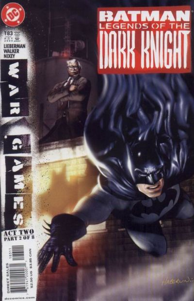 Cover for Batman: Legends of the Dark Knight (DC, 1992 series) #183 [Direct Sales]