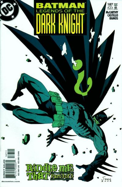 Cover for Batman: Legends of the Dark Knight (DC, 1992 series) #187