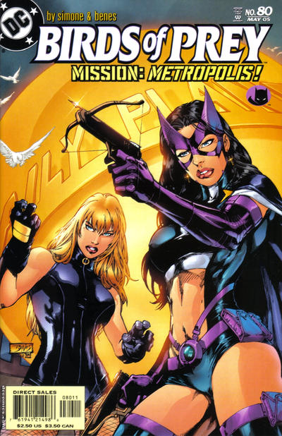 Cover for Birds of Prey (DC, 1999 series) #80