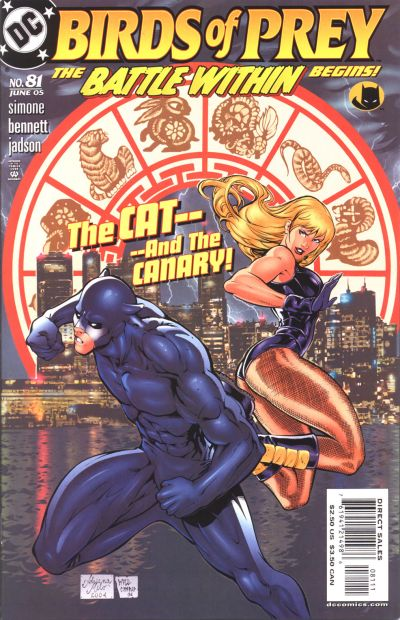 Cover for Birds of Prey (DC, 1999 series) #81