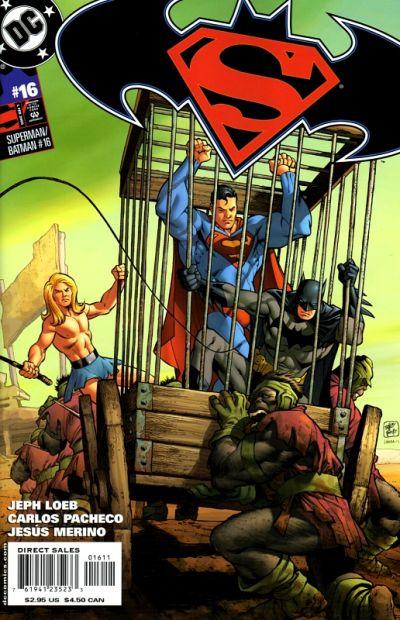 Cover for Superman / Batman (DC, 2003 series) #16