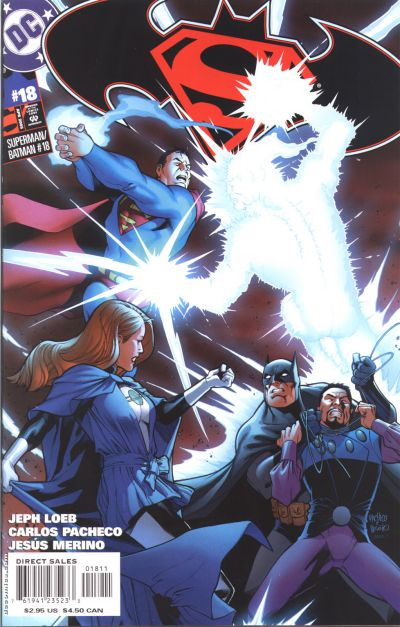 Cover for Superman / Batman (DC, 2003 series) #18