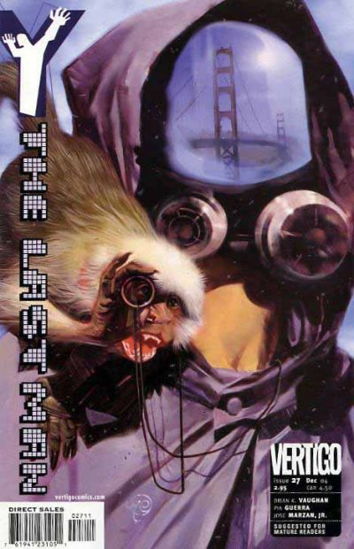 Cover for Y: The Last Man (DC, 2002 series) #27