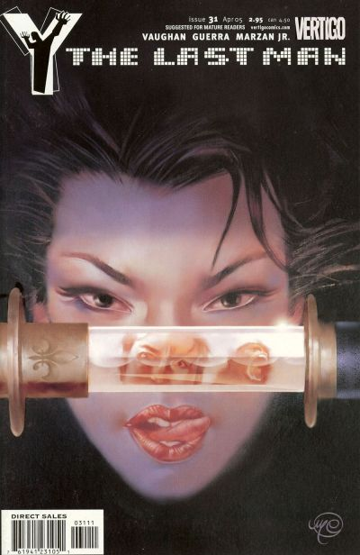 Cover for Y: The Last Man (DC, 2002 series) #31