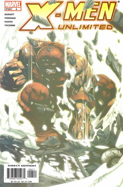 Cover for X-Men Unlimited (Marvel, 2004 series) #4