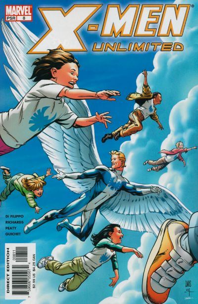 Cover for X-Men Unlimited (Marvel, 2004 series) #8
