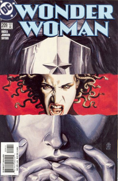 Cover for Wonder Woman (DC, 1987 series) #209