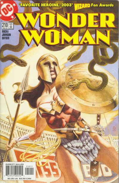 Cover for Wonder Woman (DC, 1987 series) #210