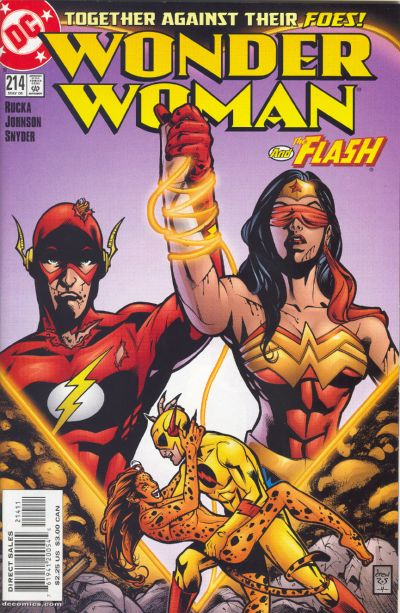 Cover for Wonder Woman (DC, 1987 series) #214