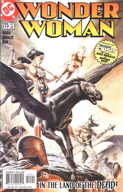 Cover for Wonder Woman (DC, 1987 series) #215