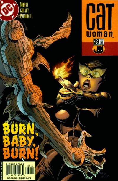 Cover for Catwoman (DC, 2002 series) #39