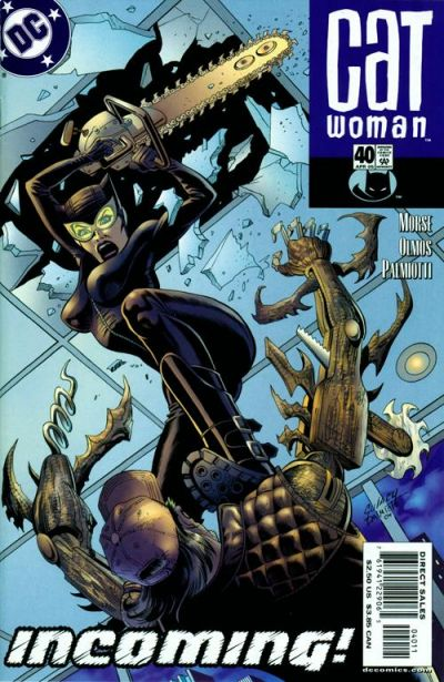 Cover for Catwoman (DC, 2002 series) #40