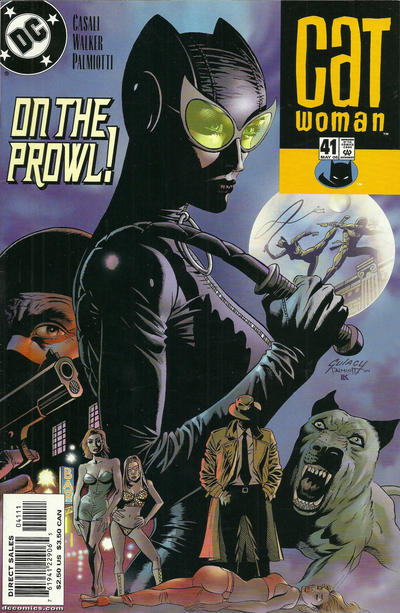 Cover for Catwoman (DC, 2002 series) #41