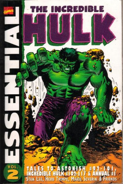 Cover for Essential Hulk (Marvel, 1999 series) #2