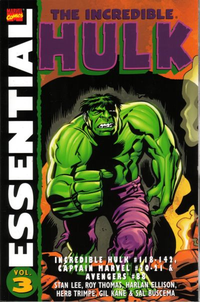Cover for Essential Hulk (Marvel, 1999 series) #3