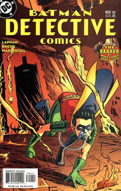 Cover for Detective Comics (DC, 1937 series) #802