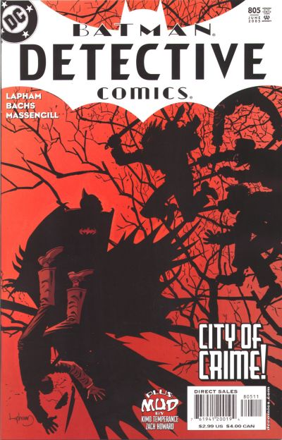Cover for Detective Comics (DC, 1937 series) #805