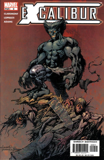Cover for Excalibur (Marvel, 2004 series) #9