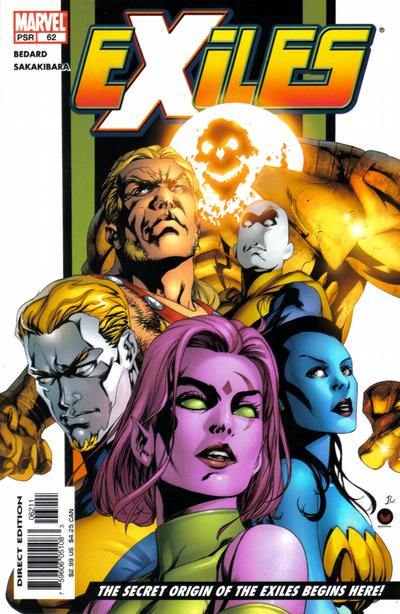 Cover for Exiles (Marvel, 2001 series) #62 [Direct Edition]