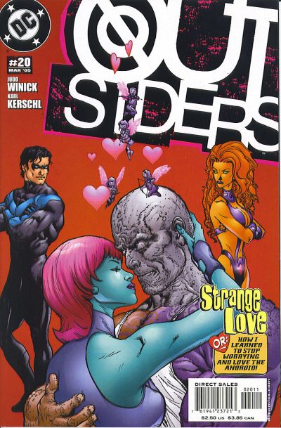 Cover for Outsiders (DC, 2003 series) #20