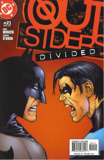 Cover for Outsiders (DC, 2003 series) #21