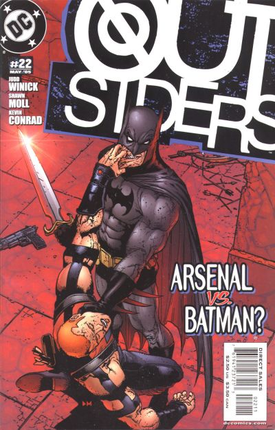 Cover for Outsiders (DC, 2003 series) #22