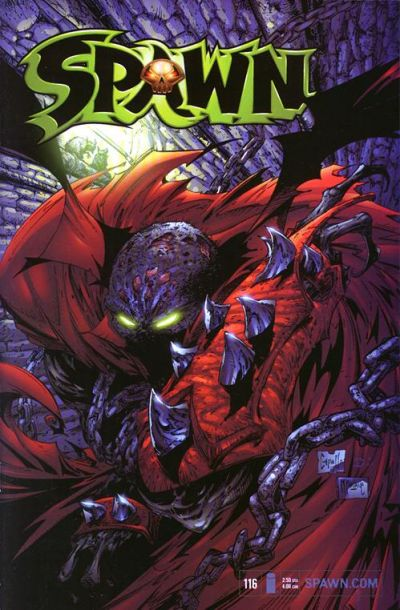 Cover for Spawn (Image, 1992 series) #116