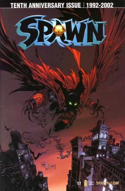Cover for Spawn (Image, 1992 series) #117